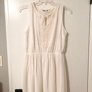 Only Dresses - Off-white dress with lace detail